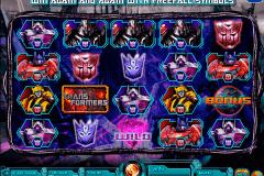 transformers battle for cybertron igt kolikkopelit