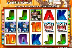 transformers ultimate payback igt kolikkopelit