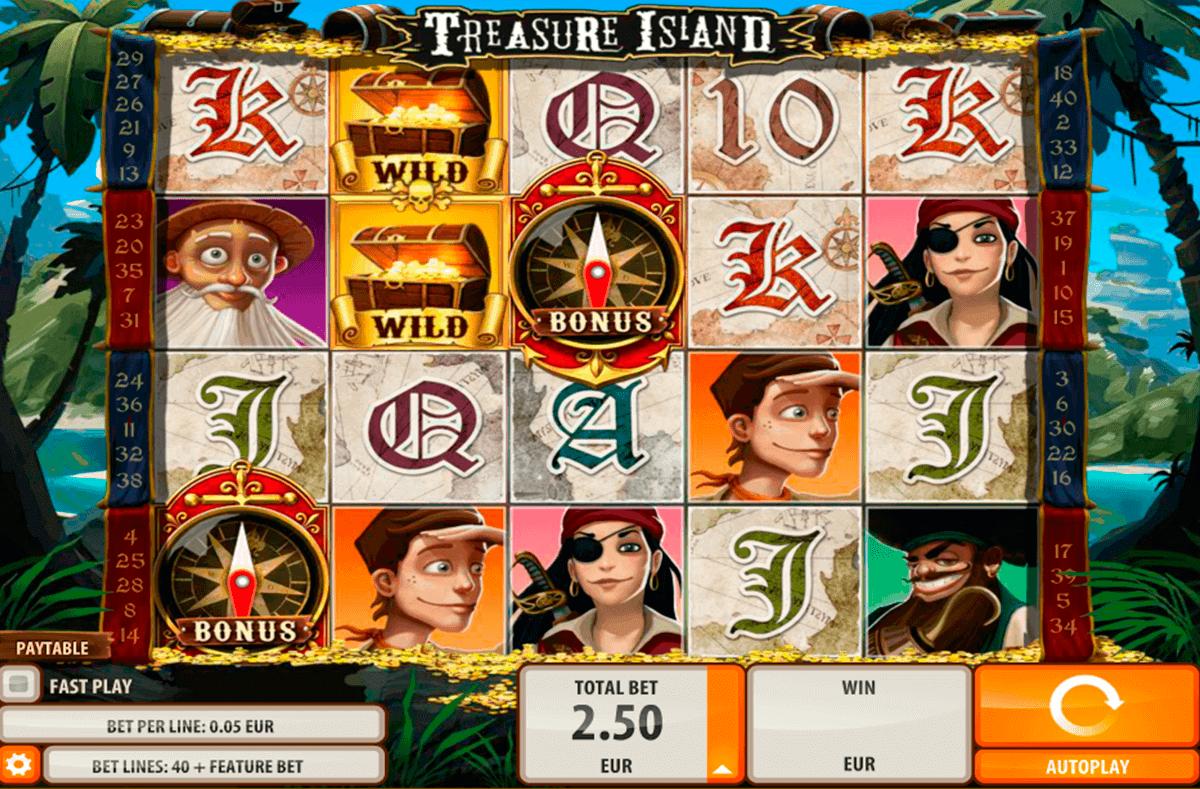 treasure island quickspin kolikkopelit