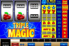 triple magic microgaming kolikkopelit