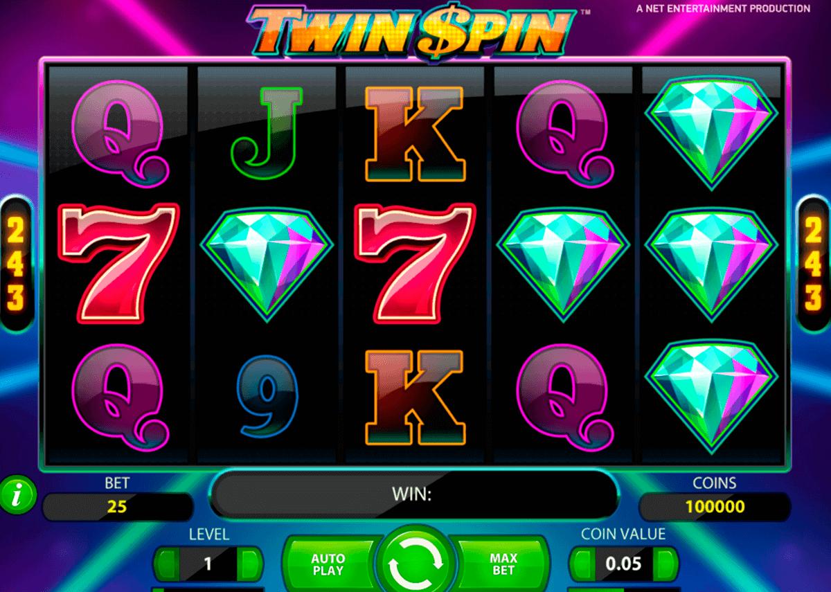 twin spin netent kolikkopelit