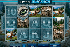 untamed wolf pack microgaming kolikkopelit