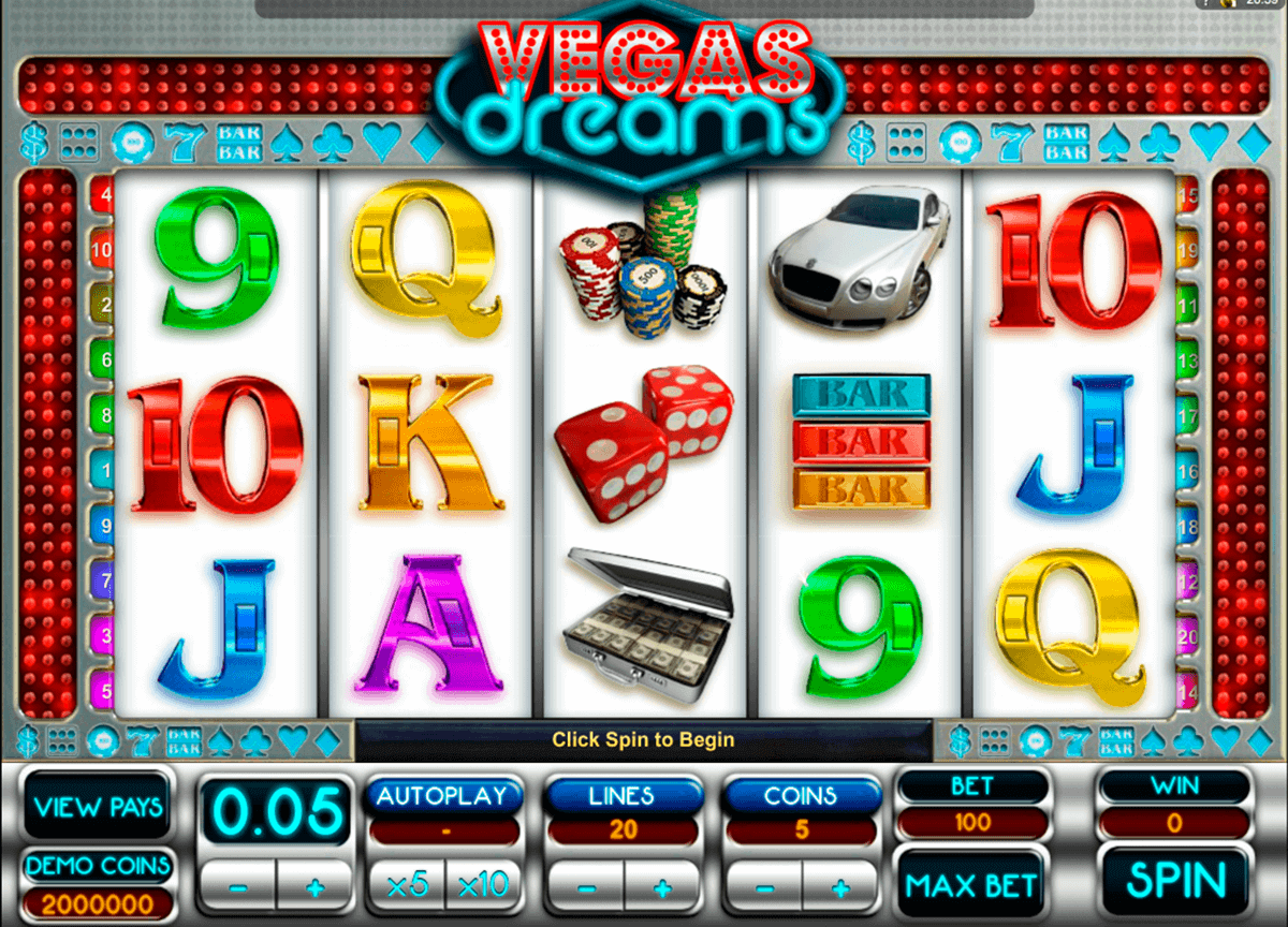vegas dreams microgaming kolikkopelit