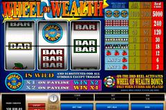 wheel of wealth microgaming kolikkopelit