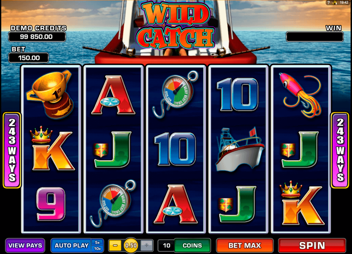 wild catch microgaming kolikkopelit