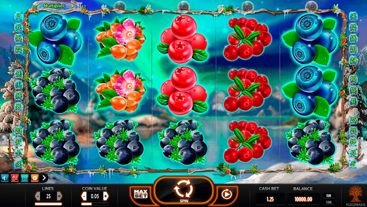 winterberries yggdrasil kolikkopelit