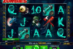 zombies netent kolikkopelit