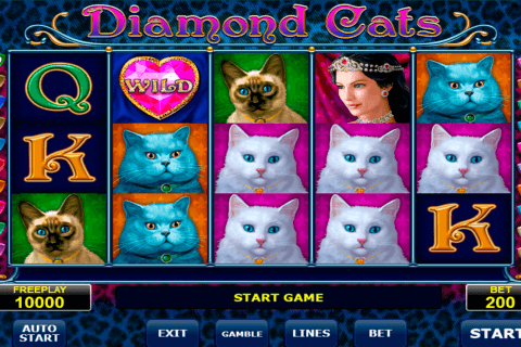 diamond cats amatic kolikkopeli