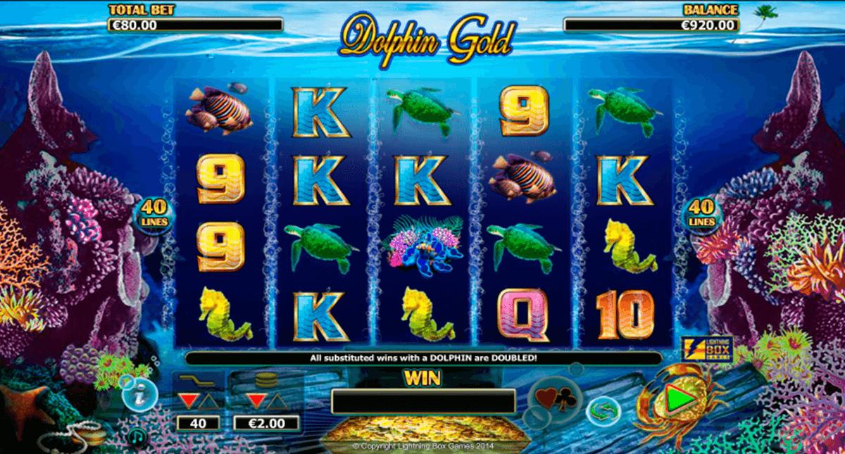 dolphin gold lightning box kolikkopeli