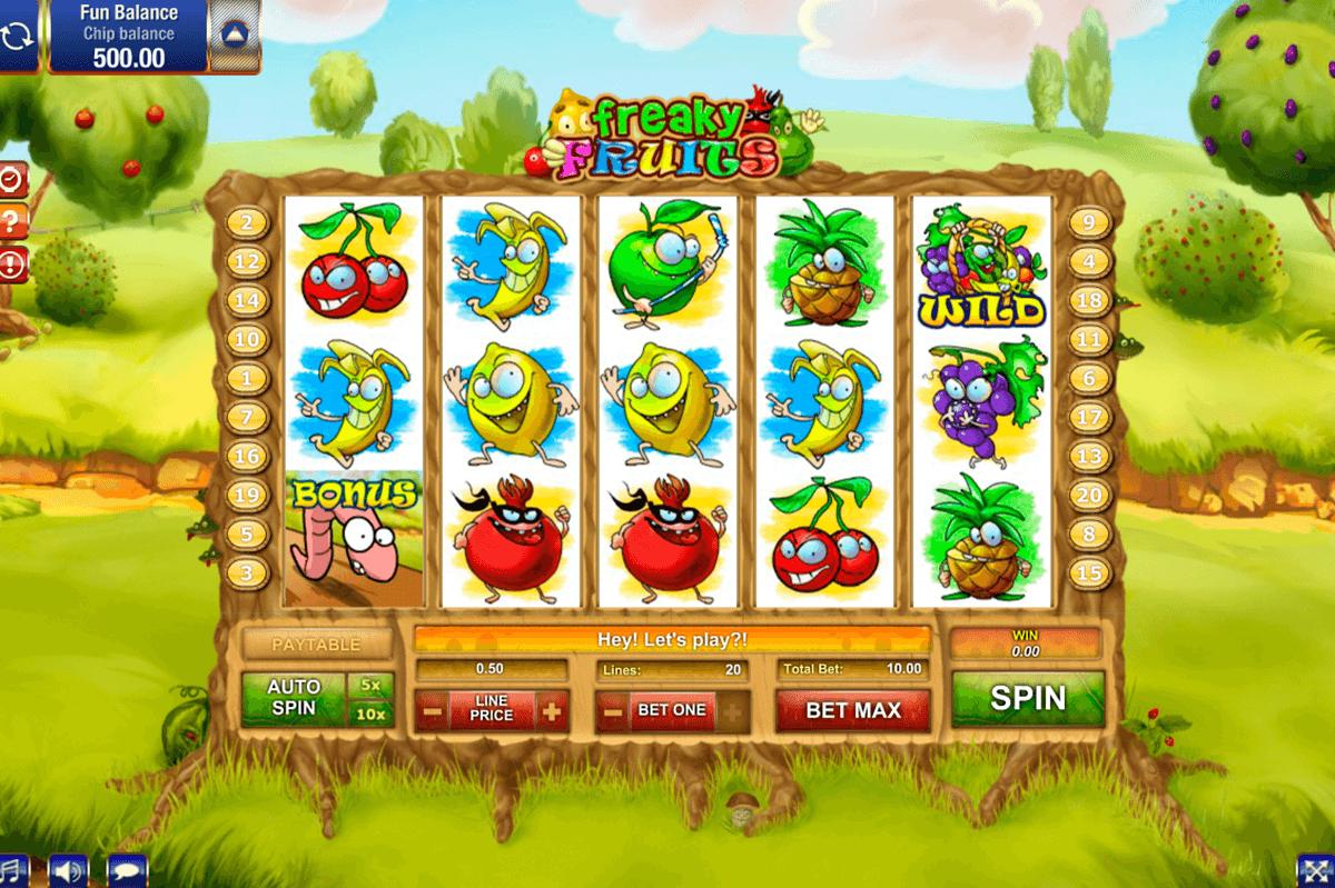 freaky fruits gamesos kolikkopeli