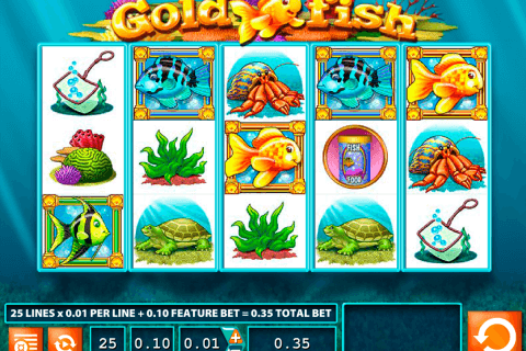gold fish wms kolikkopeli