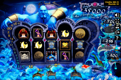 jackpot jinni slotland kolikkopeli
