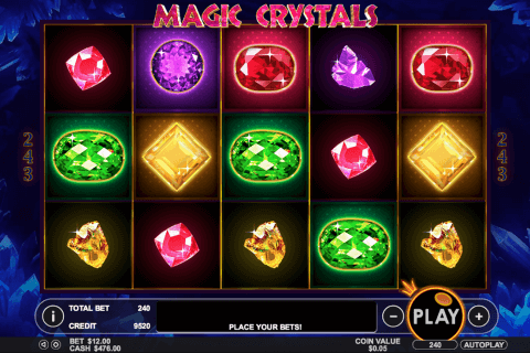 magic crystals pragmatic kolikkopeli