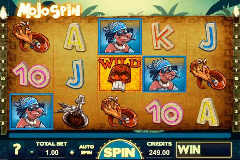 mojo spin gaming kolikkopeli
