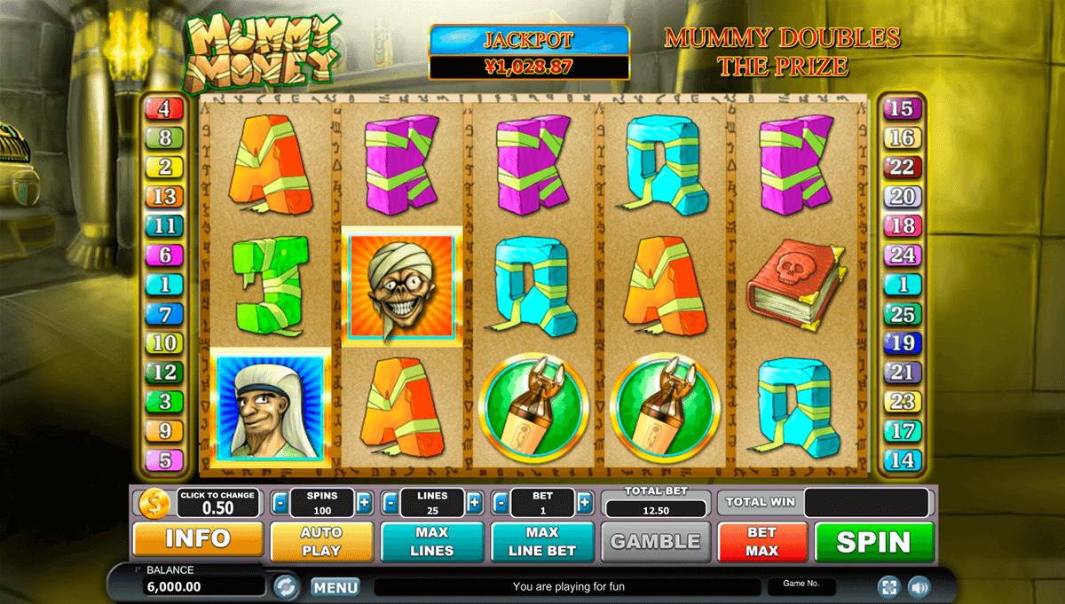 mummy money habanero kolikkopeli