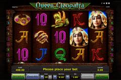 queen cleopatra novomatic kolikkopeli