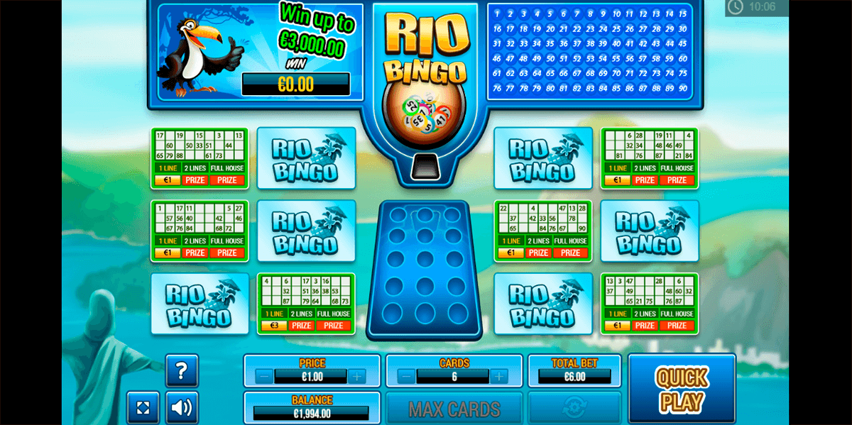 rio bingo pariplay