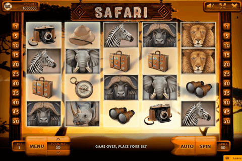 safari endorphina kolikkopeli