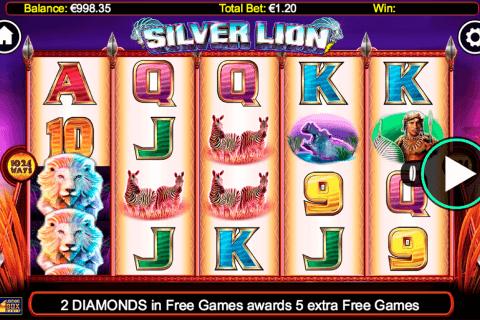 silver lion lightning bo kolikkopeli