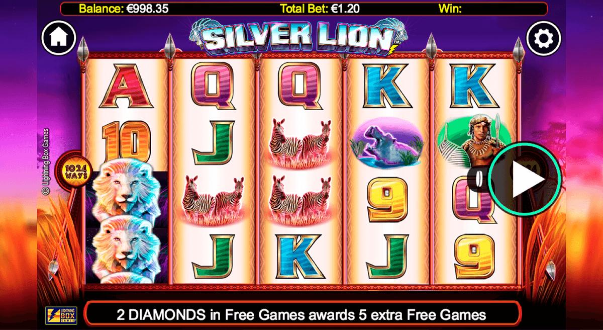 silver lion lightning box kolikkopeli