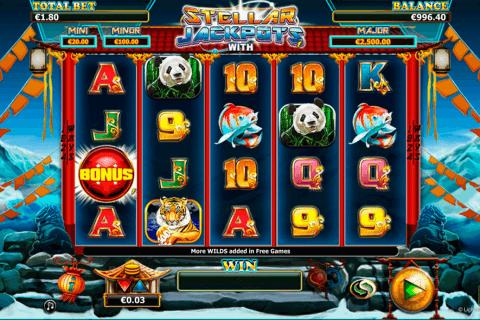 stellar jackpots with more monkeys lightning bo kolikkopeli