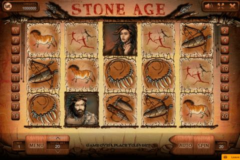 stone age endorphina kolikkopeli